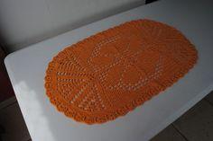 Tapete de Crochê - Receita da artesã Luiza de Lugh em https://www.youtube.com/watch?v=Bukvt7soaoY