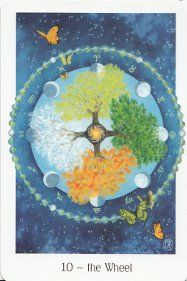 Gaian Tarot - Joanna Powell Colbert   Self-published; also available through Llewellyn