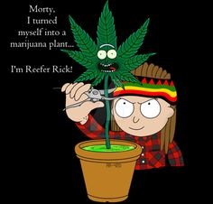 Rick and Morty x Reefer Rick