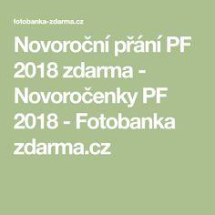 Novoroční přání PF 2018 zdarma - Novoročenky PF 2018 - Fotobanka zdarma.cz