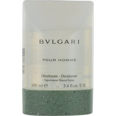Bvlgari Deodorant Spray, 3.4 Ounce by Bvlgari. $30.00. Launched by the design house of Bvlgari in 1995, BVLGARI is classified as a refreshing, oriental, woody fragrance. Accompanied by watery and spicy notes. This masculine scent possesses a blend of rosewood, pepper, musk, and tea. It is recommended for daytime wear. Buy Bvlgari Deodorants - Bvlgari Pour Homme by Bvlgari for Men 3.4 oz Deodorant Spray. How-to-Use: After bathing, apply a generous amount of deodorant to under ...