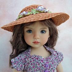 """Alyssa""   Little Darling Images - Kuwahi Dolls"