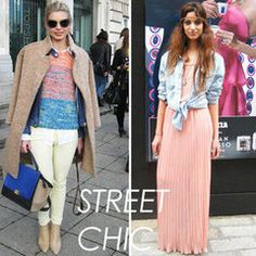 Never Before Seen Street Style Snaps from LFW!