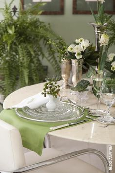 tablescape, for a lunch at home, mesa post, table setting, green www.anfitria.com.br