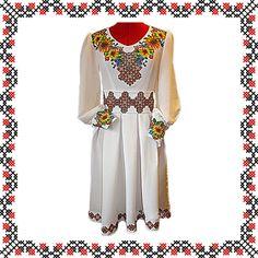 """Сукня вишивана з квітами """"Принцеса"""""""
