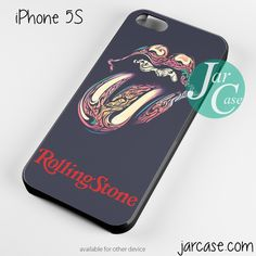 the rolling stones logo Phone case for iPhone 4/4s/5/5c/5s/6/6 plus