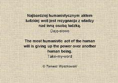 Ludzka wola/The human will