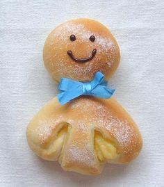 Japanese Bun Recipe Japanese Buns, Japanese Sweets, Bakery Recipes, Dessert Recipes, Cute Baking, Bread Art, Braided Bread, Cute Cafe, Bun Recipe