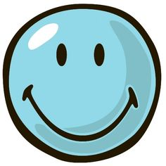 Fun Rugs Smiley World Blue Smiley Kids Rug