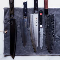 Here, five chefs reveal their favorite knives ever.