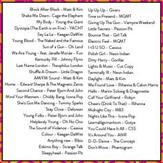 Playlist from Note to Self