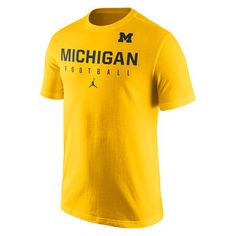 fa412ac75a74 Buy authentic Michigan Wolverines Nike Jumpman merchandise