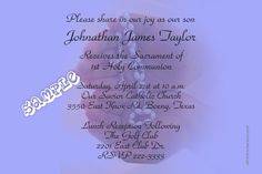 Communion Hands Invitations ALL COLORS - Digital Download - Get these invitations RIGHT NOW. Design yourself online, download and print IMMEDIATELY! Or choose my printing services. No software download is required. Free to try! Holy Communion Invitations, Christening Invitations, Diy Invitations, Choose Me, Savior, Printing Services, Baby Names, All The Colors, Color Schemes
