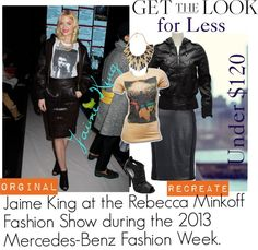 """Jaime King's Get the Look: NYFW!!"" by jenn-cherry on Polyvore"
