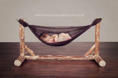Custom Wooden Hammock Newborn Photography by HeatherLynnphotos Newborn Photography Props, Newborn Photo Props, Children Photography, Family Photography, Outdoor Photography, Newborn Pictures, Baby Pictures, Family Pictures, Baby Shoot