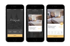 Hours Hotel App - If you are in a new city and you want to have a rest or prepare for work meeting you can book a hotel room for a couple hours. Web Design Tips, Web Design Services, App Ui Design, Mobile App Design, Web Design Inspiration, Hotel App, Mobile App Ui, Screen Design, App Development