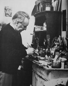 Belgian CoBrA painter Georges Collignon (1923-2002)