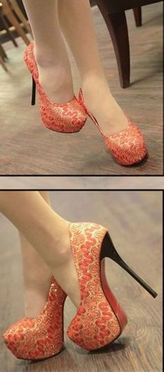 Platform Sexy High Heel Shoes