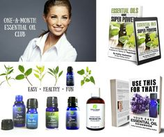 Enter to Win [$261 Value] Year of 1-A-MONTH Essential Oil Club, Signed Author Books, Essential Oils & More from Sublime Naturals!