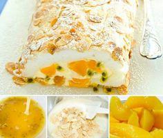 Peaches and Passionfruit Pavlova Recipe
