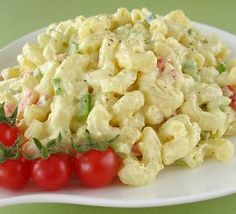 """Macaroni Salad: """"LOVE LOVE LOVE THIS salad! Not too much mayonnaise, lovely crunchy veggies and the dressing is perfect."""" -Cher Jewhurts"""