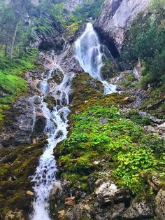 Waterfall at Ramsau am Dachstein Waterfall, River, Adventure, Landscape, Outdoor, Outdoors, Scenery, Waterfalls, Adventure Movies