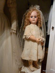 Puppenkontor: DEP Jumeau *Eine Braut zum Verlieben*