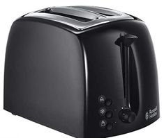 Russell Hobbs 21641 Textures 2-Slice Toaster Russel Hobbs, Small Appliances, Kitchen Appliances, Kitchen Sink, Black Toaster, Cafetiere Expresso, Electric Toaster, Kitchen Surface, Single Wide