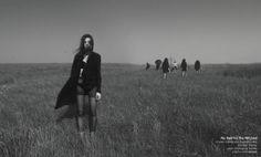 """No Rest for the Wicked""  model: Katarzyna Cieślukowska clothes: Klekko / https://www.facebook.com/Klekko assist: Remigiusz Babiło photo: slevinaaron"