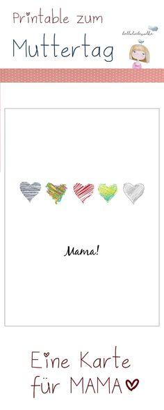 mit Herz und Liebe als Printable zum Download und Ausdrucken.