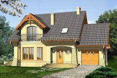 Уютный дом с гаражом и мансардой R1463