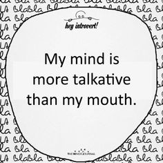 Introvert Personality, Introvert Quotes, Introvert Problems, Girl Quotes, True Quotes, Funny Quotes, My Mind Quotes, Quote Life, Qoutes