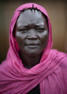 Woman from Majangir Tribe in Tepi, Ethiopia, Eric Lafforgue