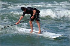 La foto de paddle surf de underwater