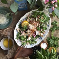 Poached Chicken Farro Salad // @thejudylab. Find this recipe and more on our Progresso Instagram Takeover Feed at http://www.thefeedfeed.com/progresso-instagram-takeovers #feedfeed