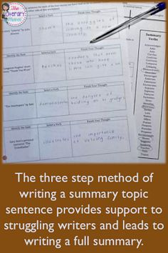 Informational writing, otherwise known as explanatory writing, often has interconnected purposes: to increase readers' knowledge or to help readers better understand a procedure or process. Students, however, struggle to remain objective while conveying this information. Try out two different methods of summarizing to help student remain objective and focused on the most important ideas in a text.