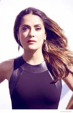 My Body Type | Salma Hayek shows off glamorous styles for Elle Mexico's 20th ...
