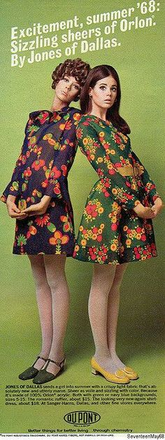 How they wore those long sleeved polyester dresses in the summer, I do not know