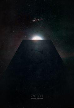 2001: A Space Odyssey (by Jason Heatherly).