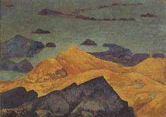 1914 Seashore - Paul Serusier. Titulo original: Bords de mer. Sintetismo