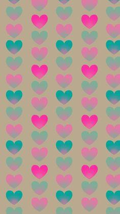 hearts Heart Wallpaper, Cute Wallpaper Backgrounds, Pretty Wallpapers, Wallpaper Iphone Cute, Love Wallpaper, Colorful Wallpaper, Cellphone Wallpaper, Iphone Wallpaer, Pyrography Patterns