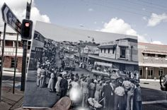 Now and Then Gympie coronation celebration 1953 by Andrew Turner