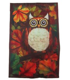 Owl Flag-12X18  : Fall Decor : home decor :  Shop | Joann.com