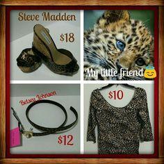 Selling this Bundle & Save!!  15%Off in my Poshmark closet! My username is: glammablog. #shopmycloset #poshmark #fashion #shopping #style #forsale #Steve Madden/Betsey Johnson #Other