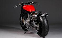 "Ducati ""Flat Red"" de Jens Von Brauck"
