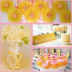 Sunshine Party: Sunshine Party Ideas