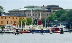 Lightship 10B (Fladen), Stockholm, Sweden