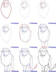 Below is a step-by-step tutorial on how to draw a realistic lion. Description from howtodrawrealistic.com. I searched for this on bing.com/images