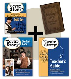 A creative, engaging Middle School writing curriculum!  Introducing Cover Story - where your child learns grammar, poetry, writes short stories and reviews…all while making their own magazine.  We're enjoying it SO much!