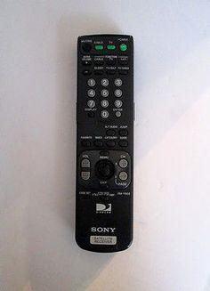 remote controls original sony rmf tx200u remote control 1 493 127 sony remote control directv satellite receiver rm y802
